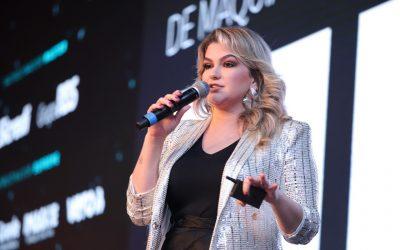 """""""Eu não fui passiva diante do que a internet me ofereceu"""", destaca Alice Salazar na Feira Brasileira do Varejo"""