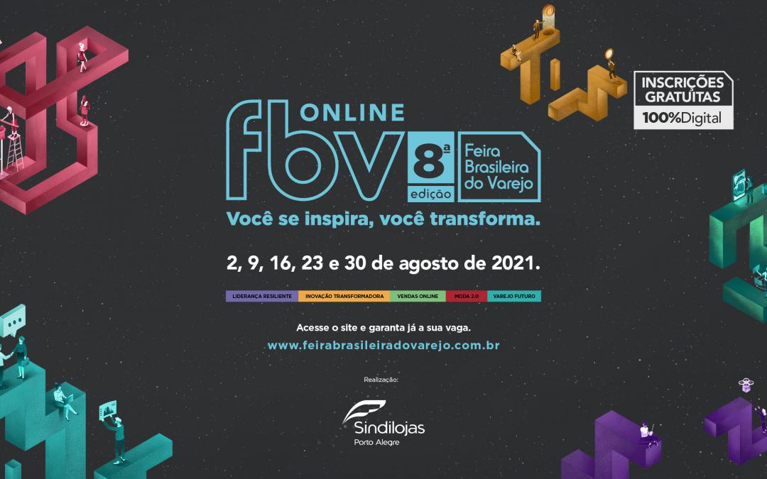 Estão abertas as inscrições para a 8ª Feira Brasileira do Varejo Online