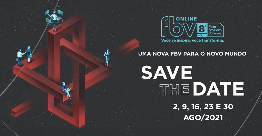 Save the date: 2021 terá FBV 8ª edição Online